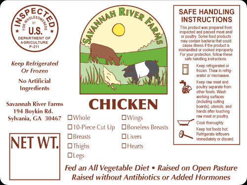 Growers Discount LabelsMeat and Poultry – Product Label Sample