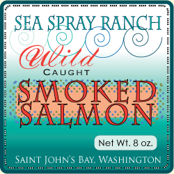 Smoked Salmon Label
