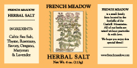 French Meadow Herbal Salt