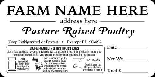 Growers Discount Labels Labels To Purchase Poultry